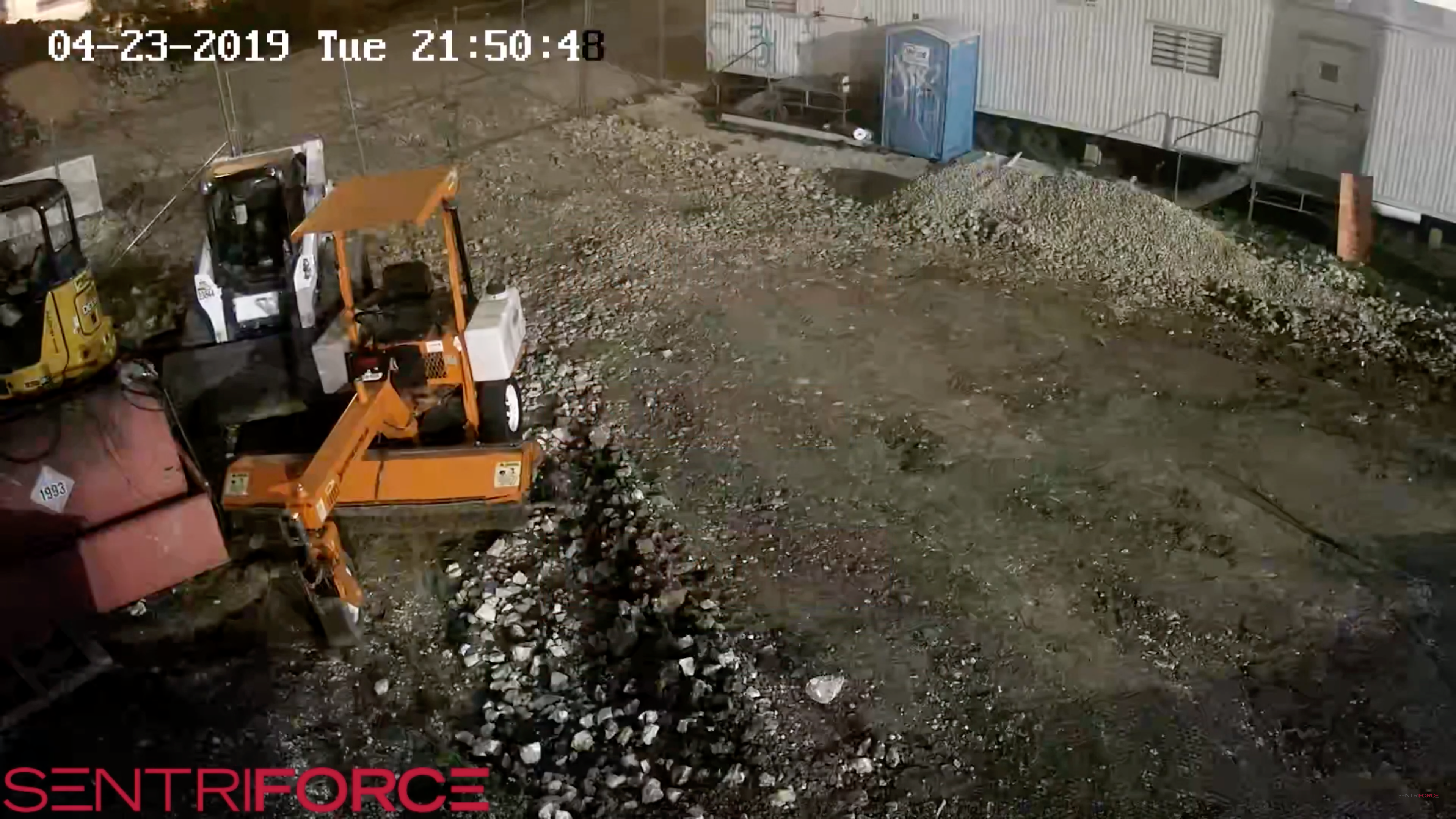 Construction Site Theft Prevention